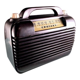 Crosley Portable Radio Model 56pa
