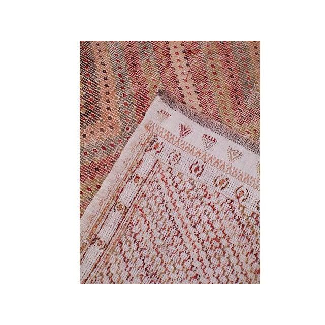 Vintage Turkish Flat Weave Rug: Antique Turkish Red Flat-Weave Rug - 6′ × 10′