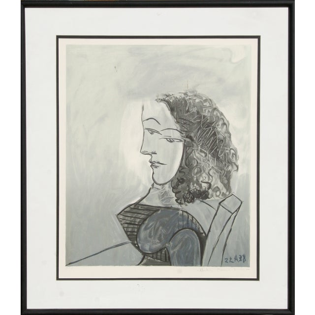 Pablo Picasso Buste De Femme Aux Cheveux Bouchles - Image 1 of 2