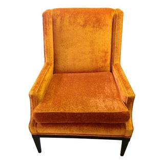Mid-Century Orange Occasional Chair