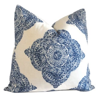 Moroccan Megouna Hand Blocked Pillows - A Pair
