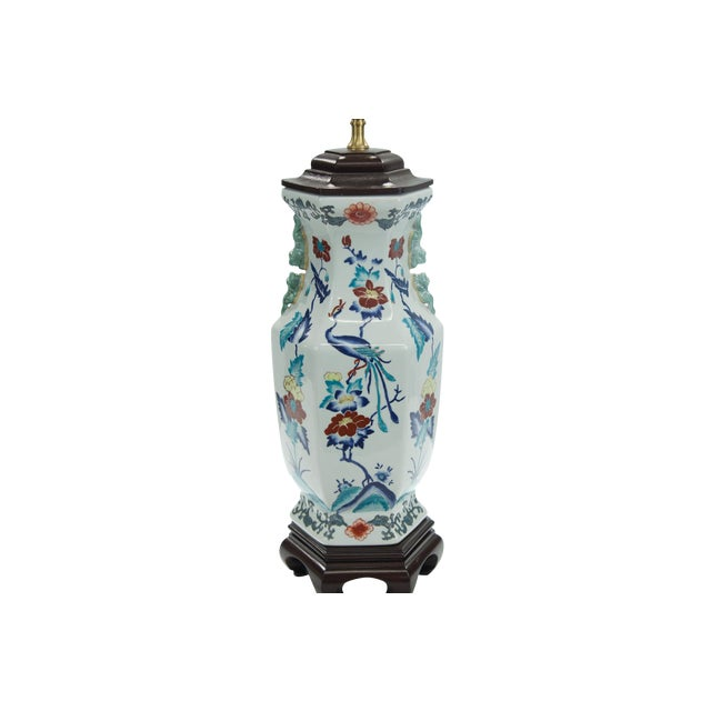 Chinese Porcelain Lamp - Image 1 of 4