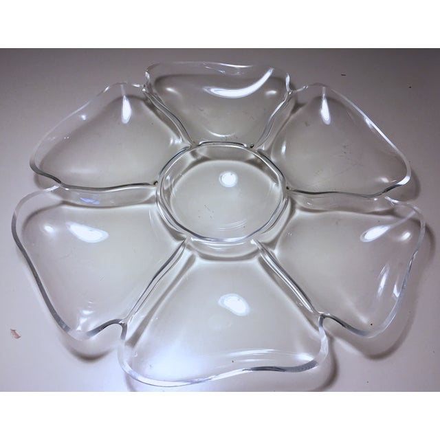 Vintage Lucite Flower Tray - Image 3 of 6