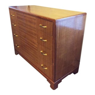 Mid-Century Modern Lowboy Wood Chest of Drawers