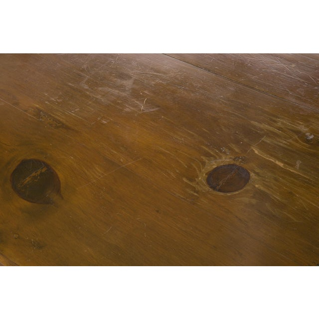 Image of Antique 18th Century Carved Wooden Console Table
