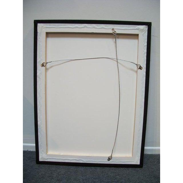 Image of 20th Century P.A. Mennonite Geometric Mounted Rug