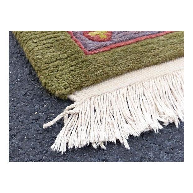 Nepalese Wool Rug- 6' x 9' - Image 10 of 11