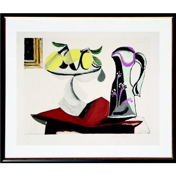 Pablo Picasso Lithograph - Nature Morte Au Citron - Image 1 of 2