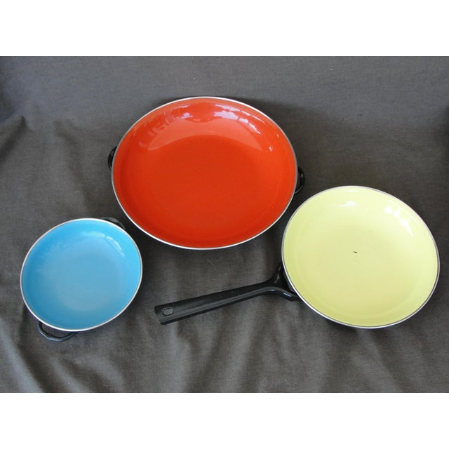 Enameled Steel Saute Pans - Set of 4 - Image 2 of 11