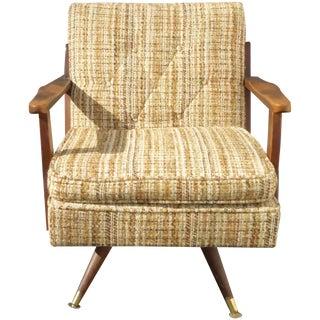 Vintage Mid Century Modern Arm Chair Rocker