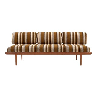 Three-Piece Peter Hvidt & Orla Mølgaard-Nielsen Sofa/Daybed and Pair of Settees