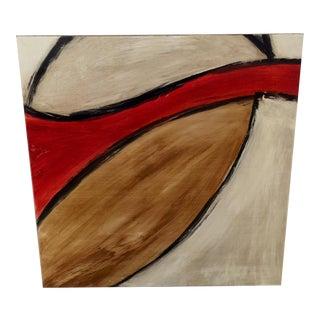 Vitral #3 Painting by Ramiro Medina