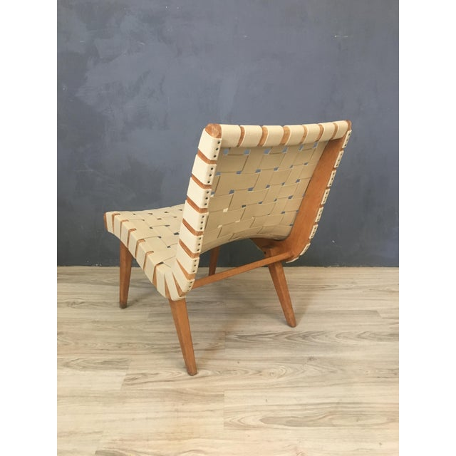 Pair of Mid Century Jen Risom Lounge Chairs - Image 6 of 6