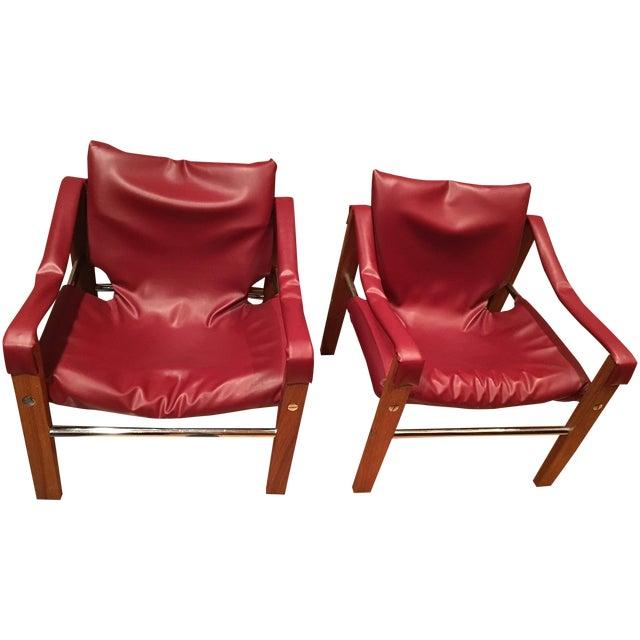 Arkana Safari Chairs by Maurice Burke - A Pair - Image 1 of 7