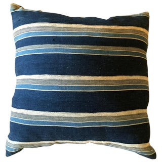 Vintage African Stripped Pillow