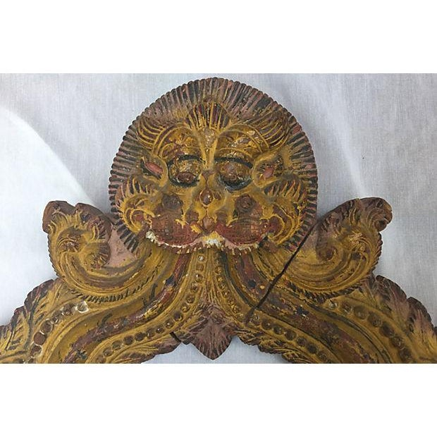 Image of Indian Carved Temple Arch