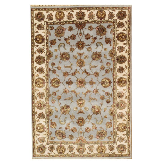 """Image of Pasargad Agra Collection Rug - 4'1"""" X 7'1"""""""