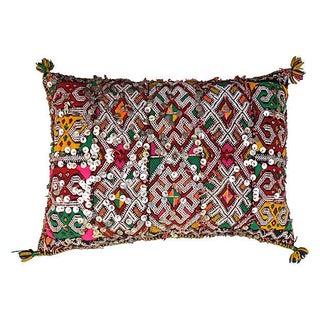 Moroccan X Pattern & Pink Sham