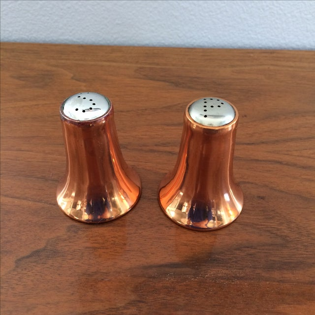 Copper Salt and Pepper Shakers - A Pair - Image 4 of 10