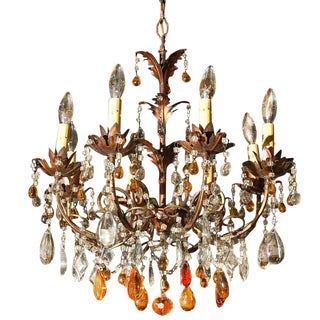 Attractive Ten Light Chandelier