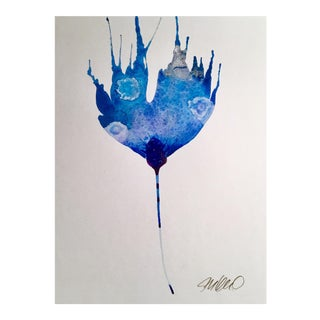 Touch of Silver Original Watercolor Painting