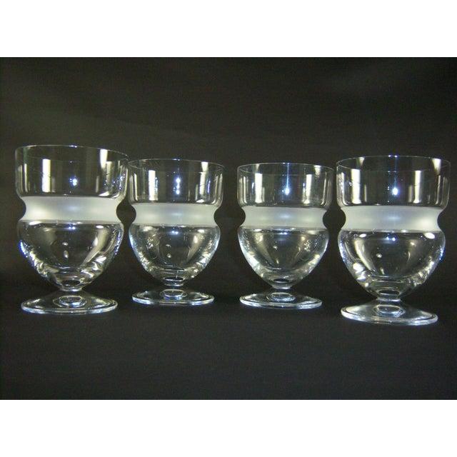Vintage Vera Wang St. Tropez Juice Glasses - Set of 4 - Image 2 of 4