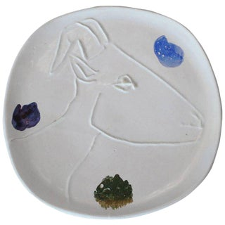 Pablo Picasso Ceramic Plate for Madoura