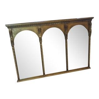 Gold Triple Arch Mirror