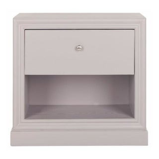 One Drawer End Table in Grey