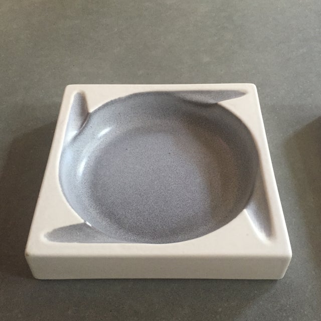Porcelain Ashtrays by Hyalyn - a Pair - Image 3 of 8