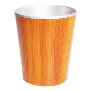 Mid Century Modern Teak Waste Bin - Made in Sweden