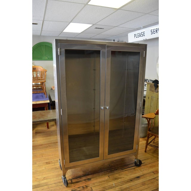 Lighted Two-Door Dental Apothecary Lab Cabinet - Image 3 of 10