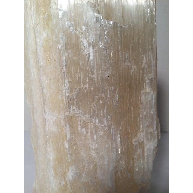 Large Selenite Crystal Column - Image 7 of 7