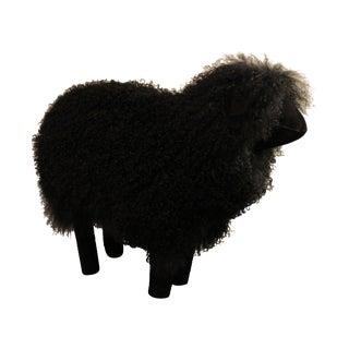 Black Sheep Footstool