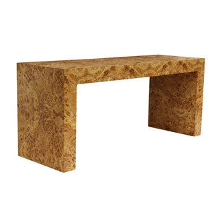 Parsons Console Table in Burl Laminate