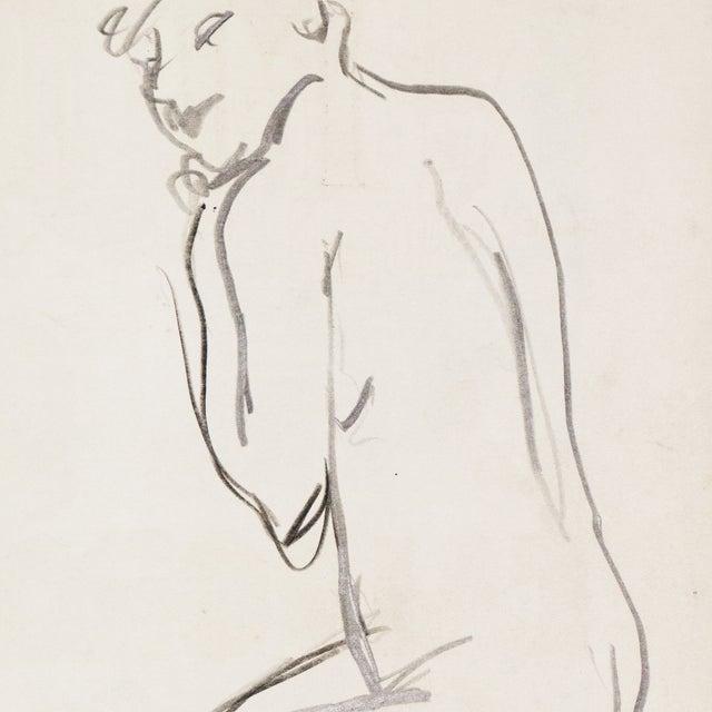 1950s Figural Study by Victor DI Gesu - Image 5 of 5