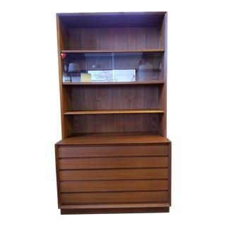 Teak Danish Modern Storage Cabinet