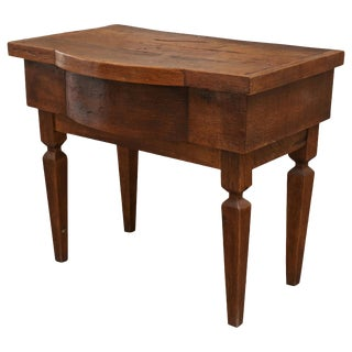 Antique French Walnut Vanity Table
