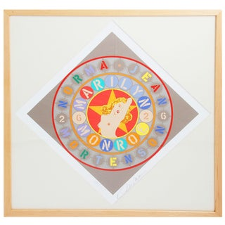 1997 Robert Indiana The Metamorphosis of Norma Jean Mortenson