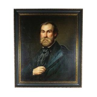 Antique Portrait Painting of a Gentleman