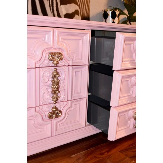 Image of Beautiful Ornate 1970's Dresser