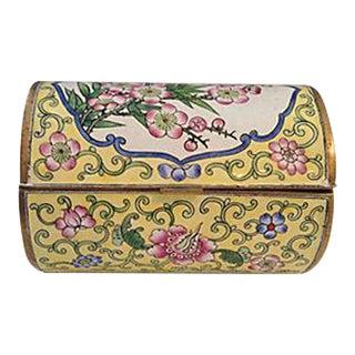 Cloisonne Cherry Blossom Box