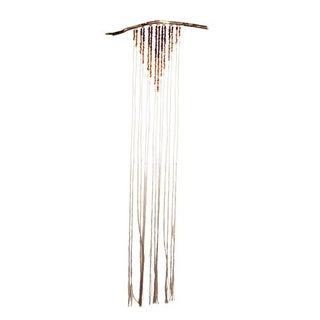Ombre Fringe Wall Hanging with 18k Gold
