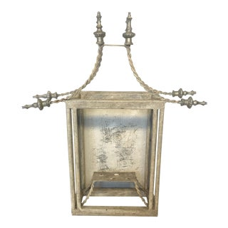 Vintage John Richard Pagoda Wall Lantern