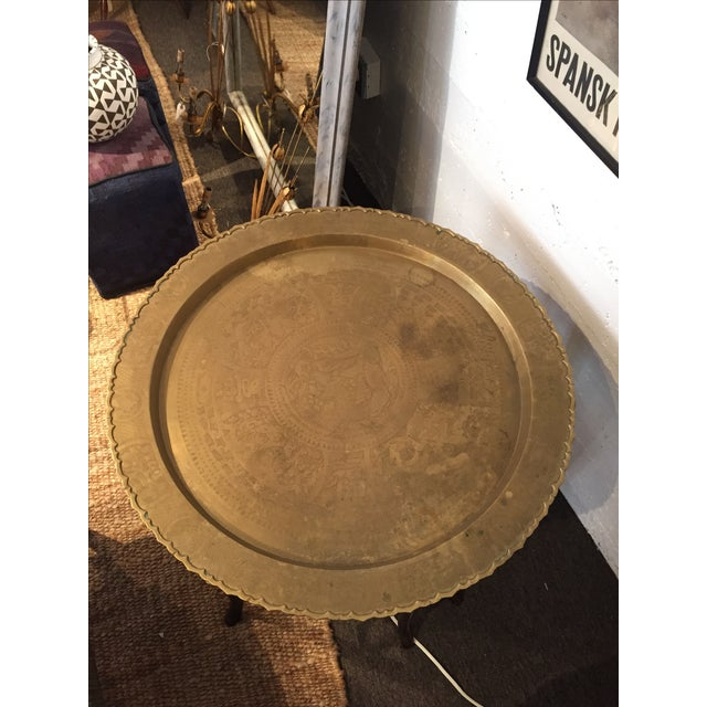 Image of Vintage Asian Tray Table