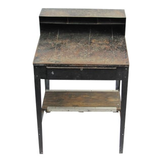Industrial Metal Standing Desk