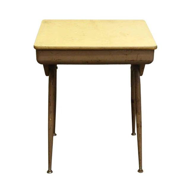 Mid-Century Modern School Desk - Image 5 of 7