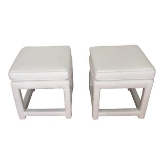 Thayer Coggin by Milo Baughmn Stools - A Pair