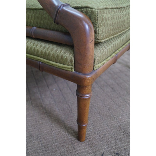 Image of Century Furniture Co. Faux Bamboo Lounge Chair