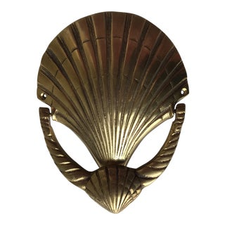 Brass Sea Shell Door Knocker